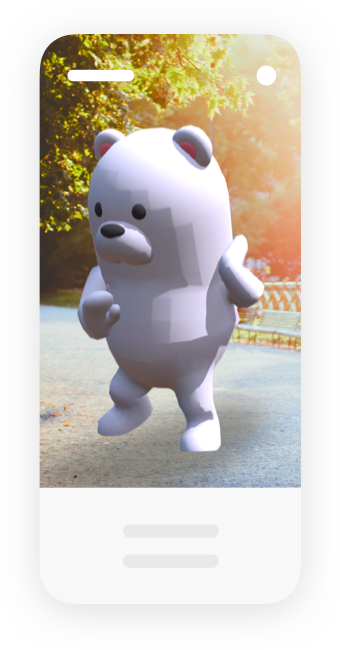 3d animated bear