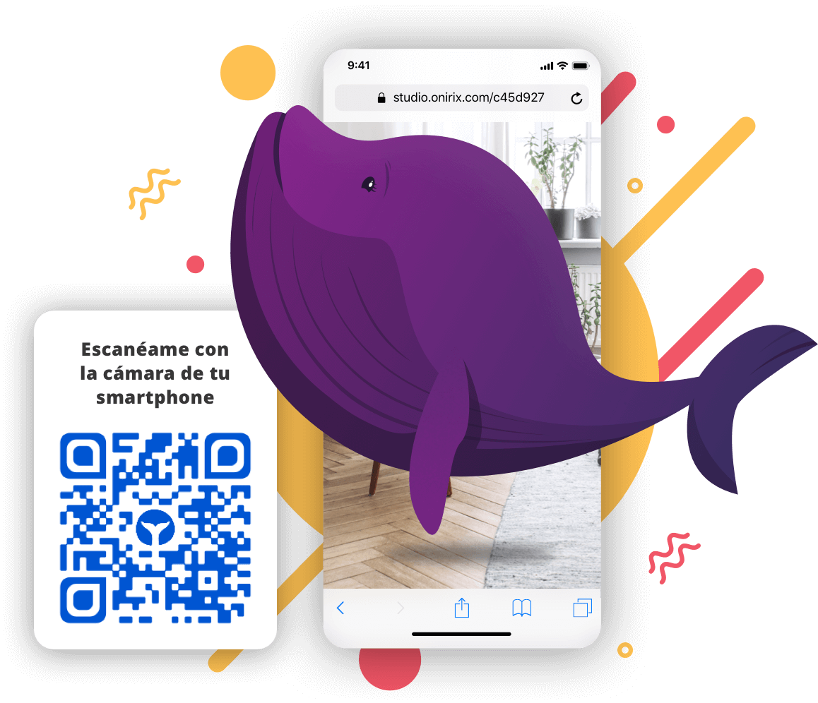 design AR scenes for android and iOS