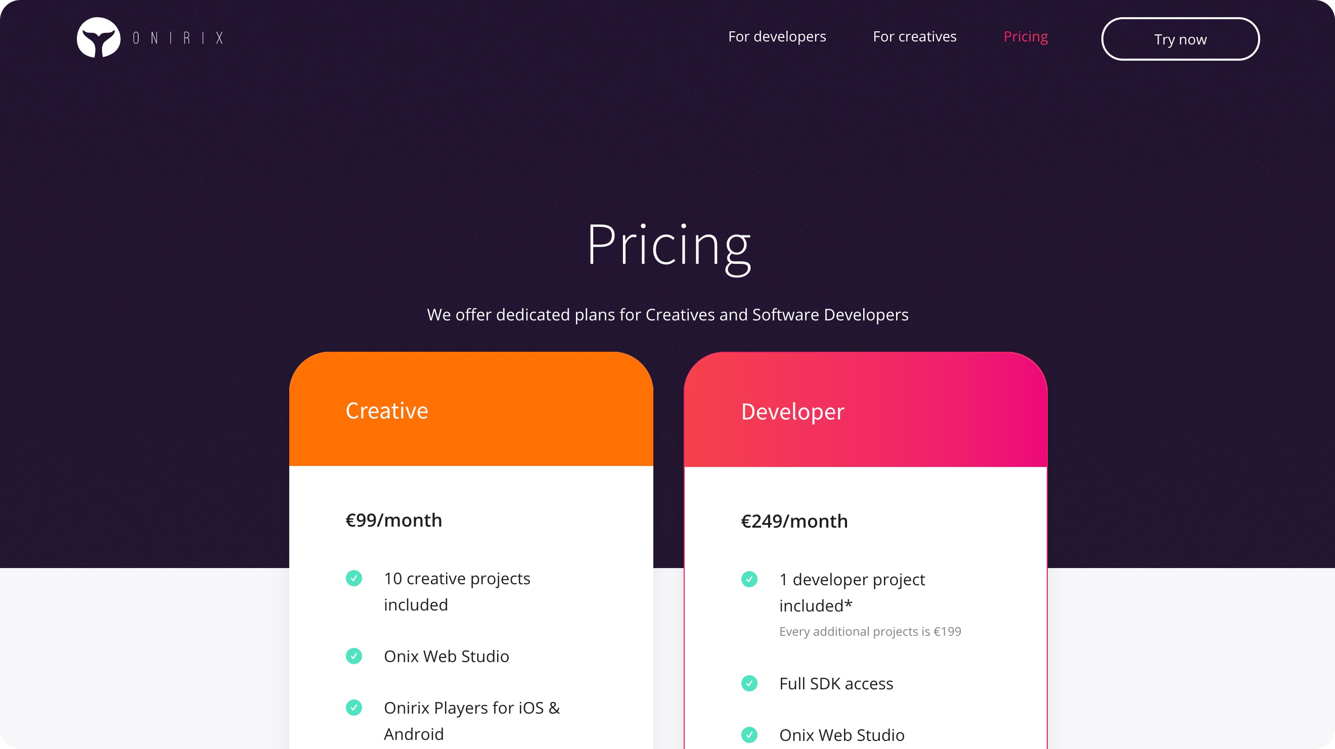 Sdk pricing models