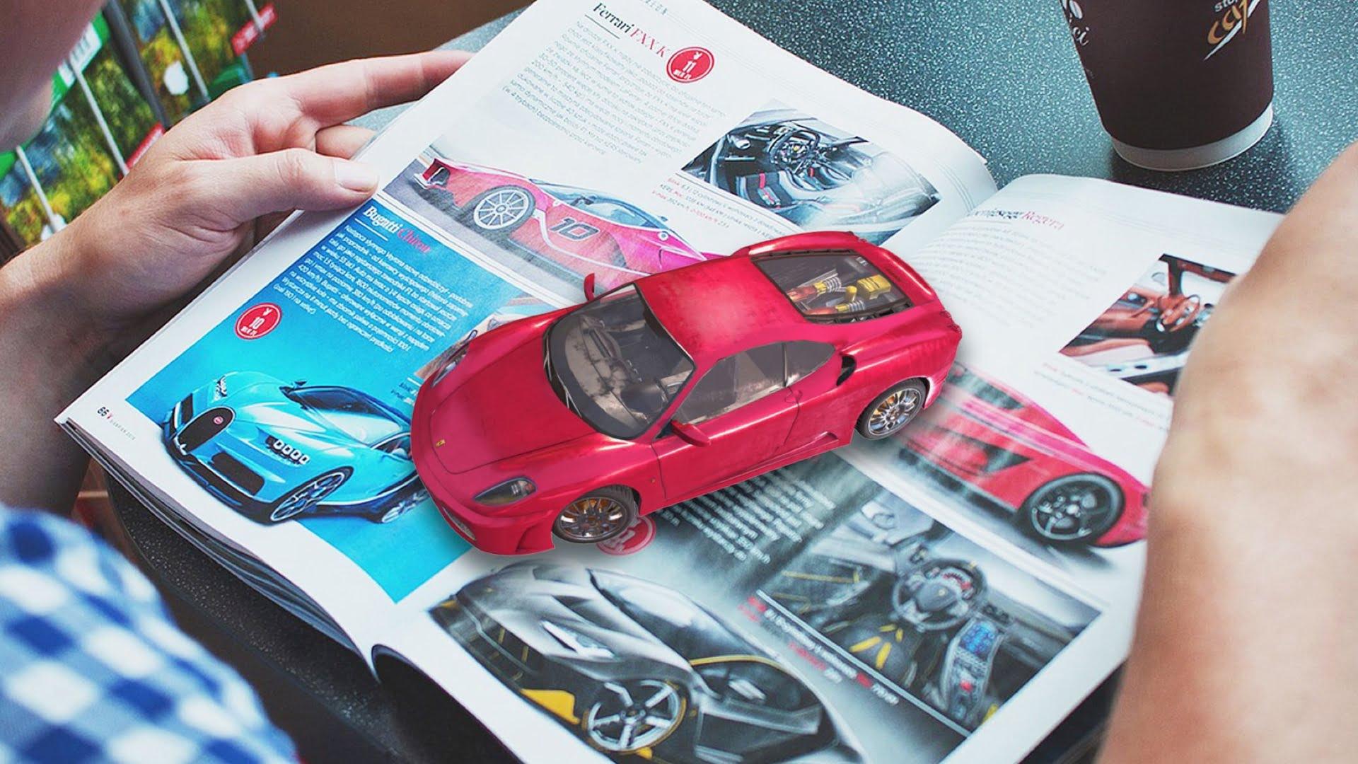 Augmented Reality print media