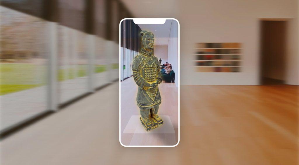 Realidad Aumentada en museos