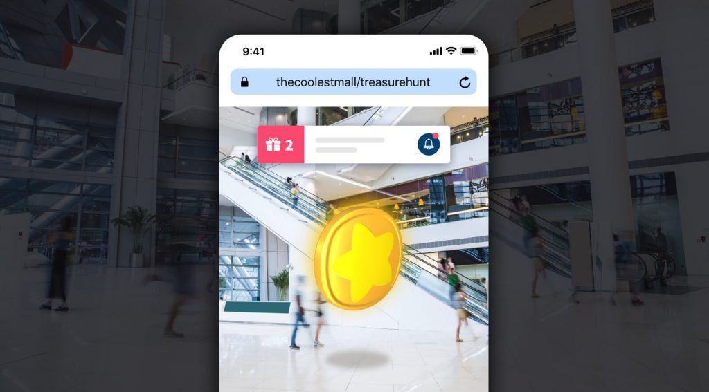 Geolocated gamification: attracting the public to my business augmented reality