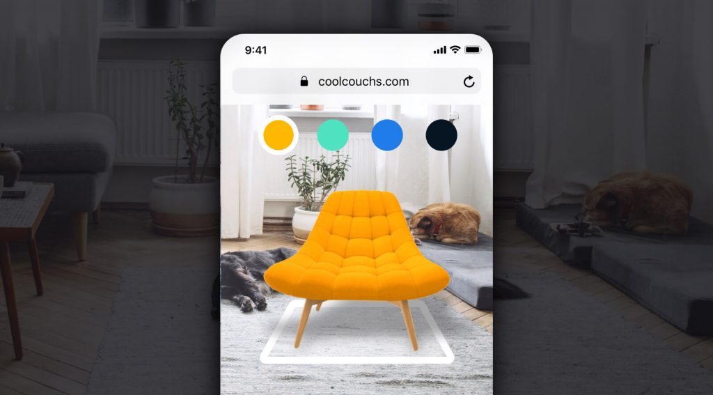 Virtual catalog: ecommerce in the era of Covid augmented reality